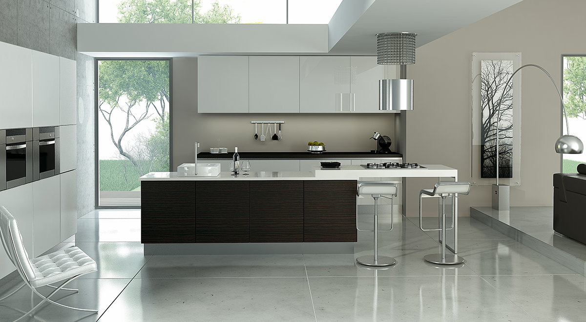Cocina Habitat Gloss Modelo Alemania