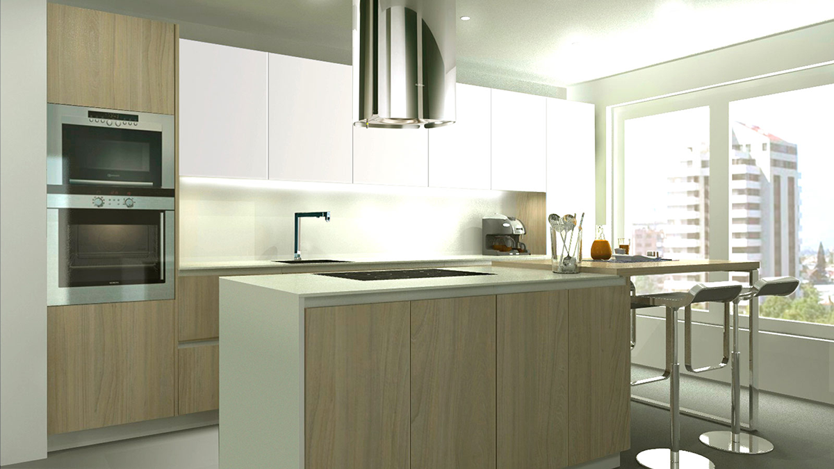 Mobiliario de madera davinia cocinas y decoraci n - Exposiciones de cocinas en madrid ...