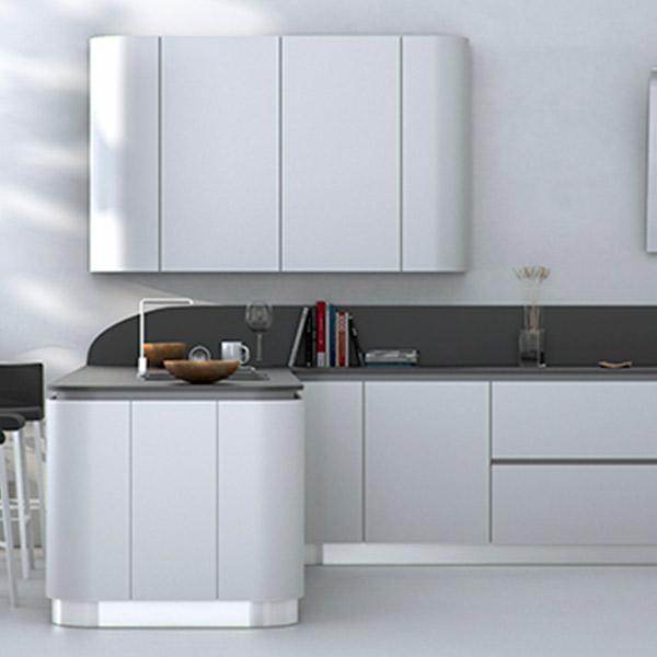 Muebles de cocina lacados davinia cocinas y decoraci n - Electrodomesticos profesionales cocina ...