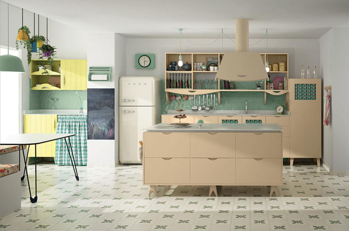 Muebles de cocina laminados - Davinia Cocinas y Decoración
