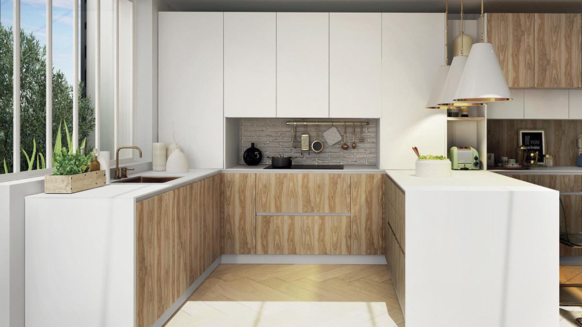 Muebles de Cocina Modelo Olea
