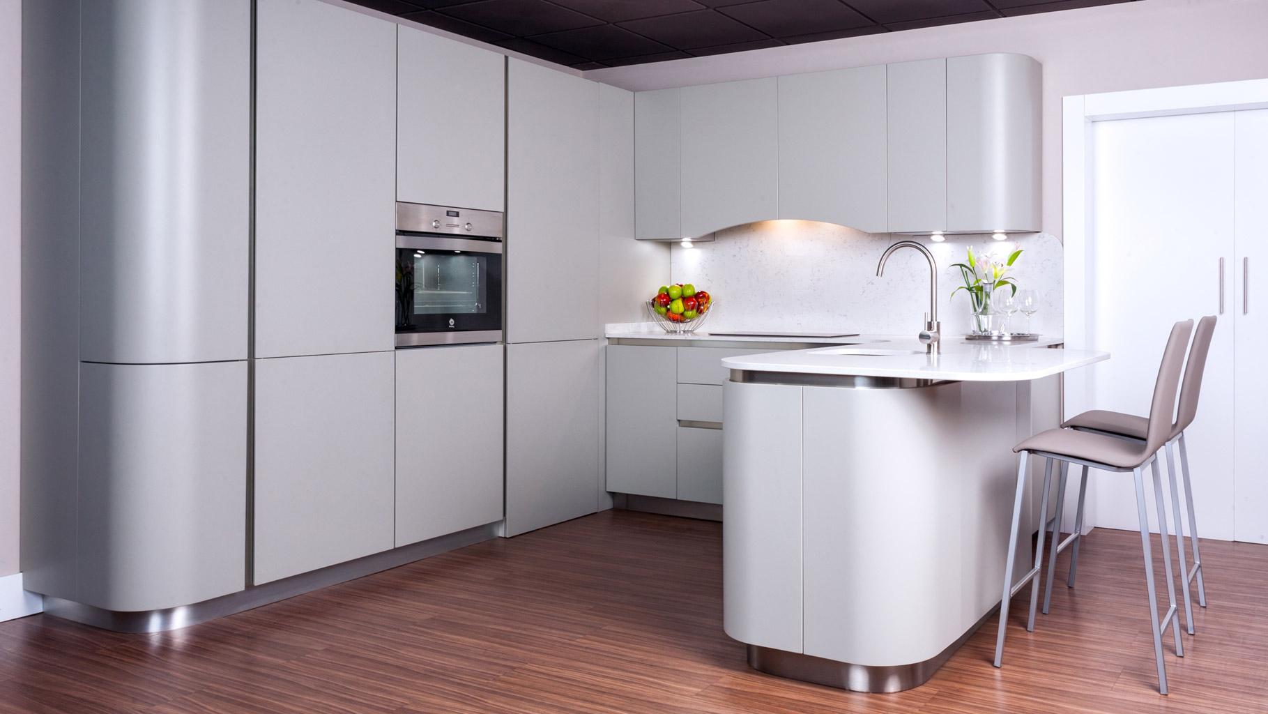 Muebles de cocina lacados davinia cocinas y decoraci n - Muebles de cocina de exposicion ...