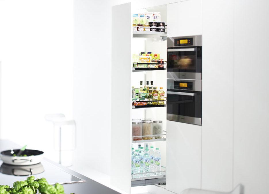 Soluciones de almacenaje perfectas para su cocina a medida