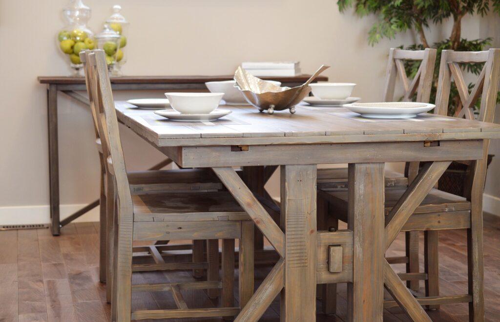 Mesa de cocina, la importancia de elegir correctamente. Davinia Consejos