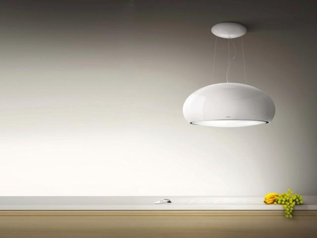 Campana luz LED elica