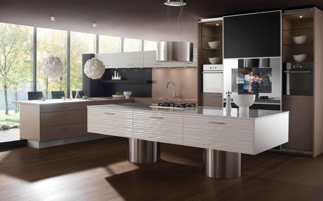 Televisiones integradas en el diseño de su cocina