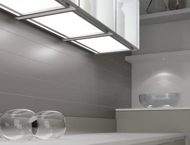 Decore con luz: iluminación en la cocina