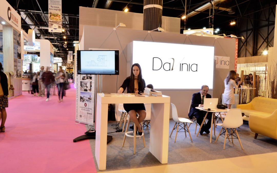 Gran éxito de Davinia en el Salón inmobiliario Internacional de Madrid SIMA