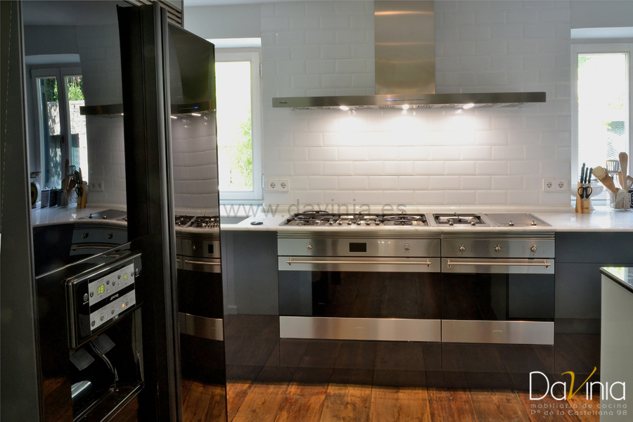 cocina de diseño de cristal