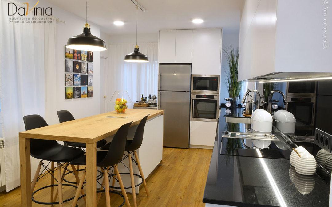 Proyecto de una cocina a medida para vivirla