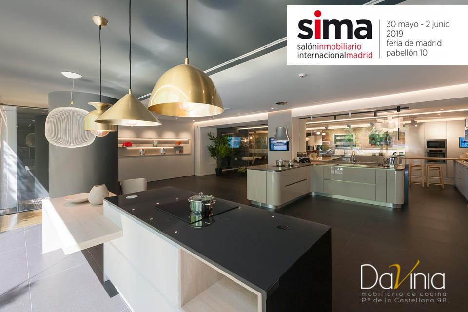 Davinia regresa a SIMA con las últimas novedades en cocinas