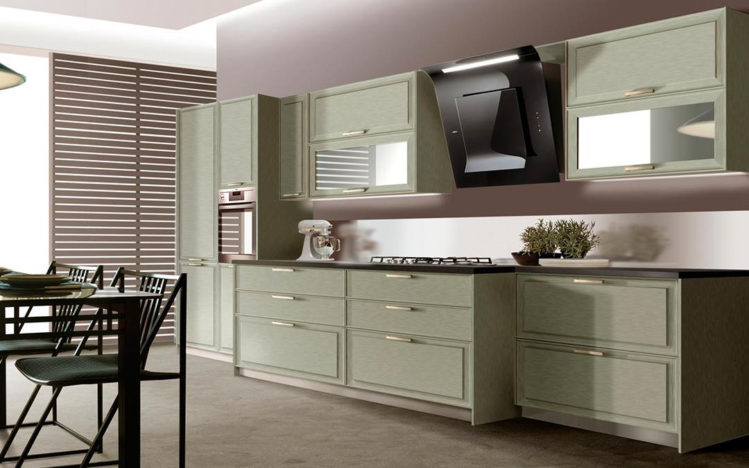 La madera, el elemento imperecedero de las cocinas de ensueño