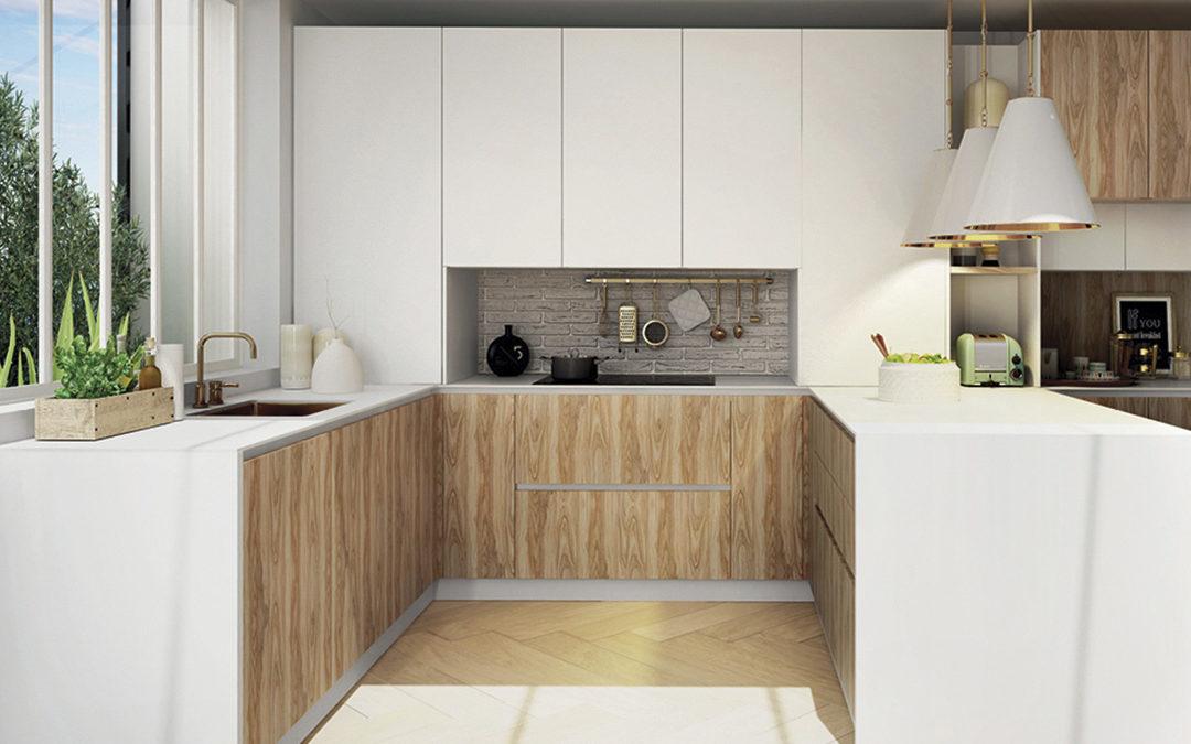 Cocinas en madera, un clásico atemporal