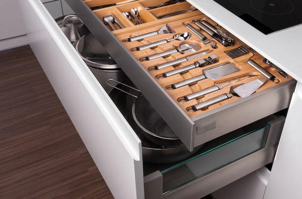 Cajones Y Extraibles Soluciones De Almacenaje Para La Cocina