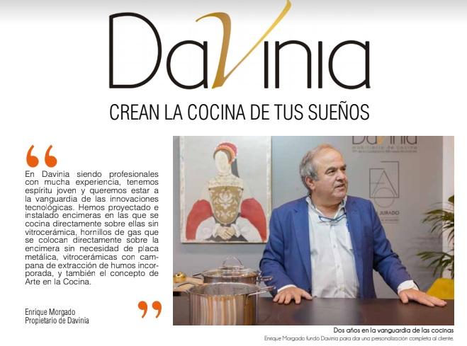 Entrevista a Enrique Morgado, director de Davinia, en Style International