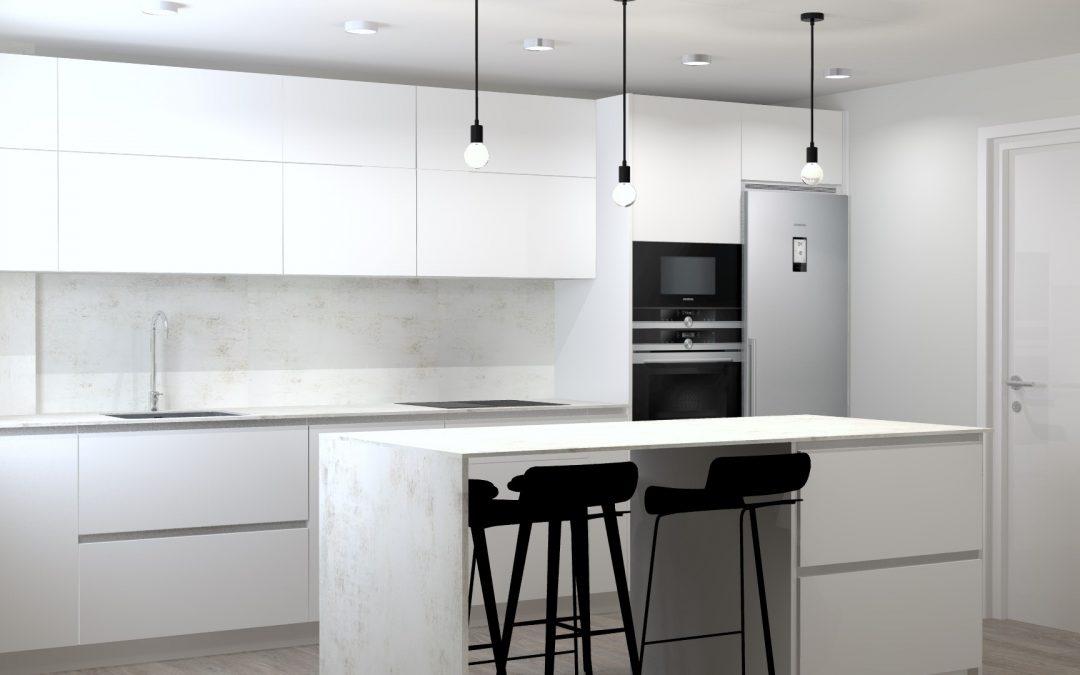Claves para escoger la iluminación de la cocina