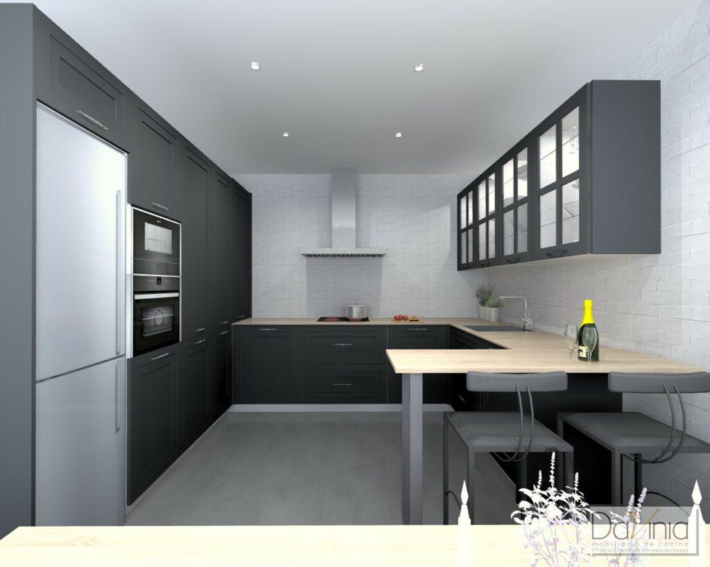 Tendencias 2020 Cocinas En Negro Davinia Cocinas Y Decoracion