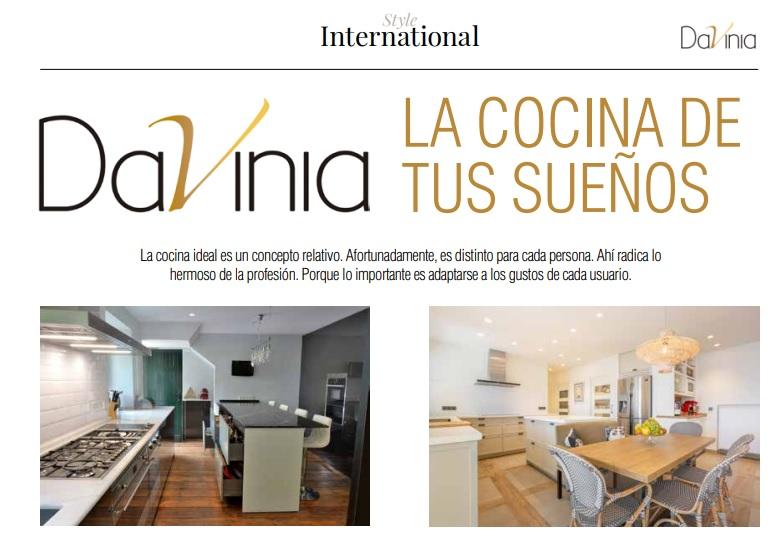 Davinia en Style International: la cocina de sus sueños