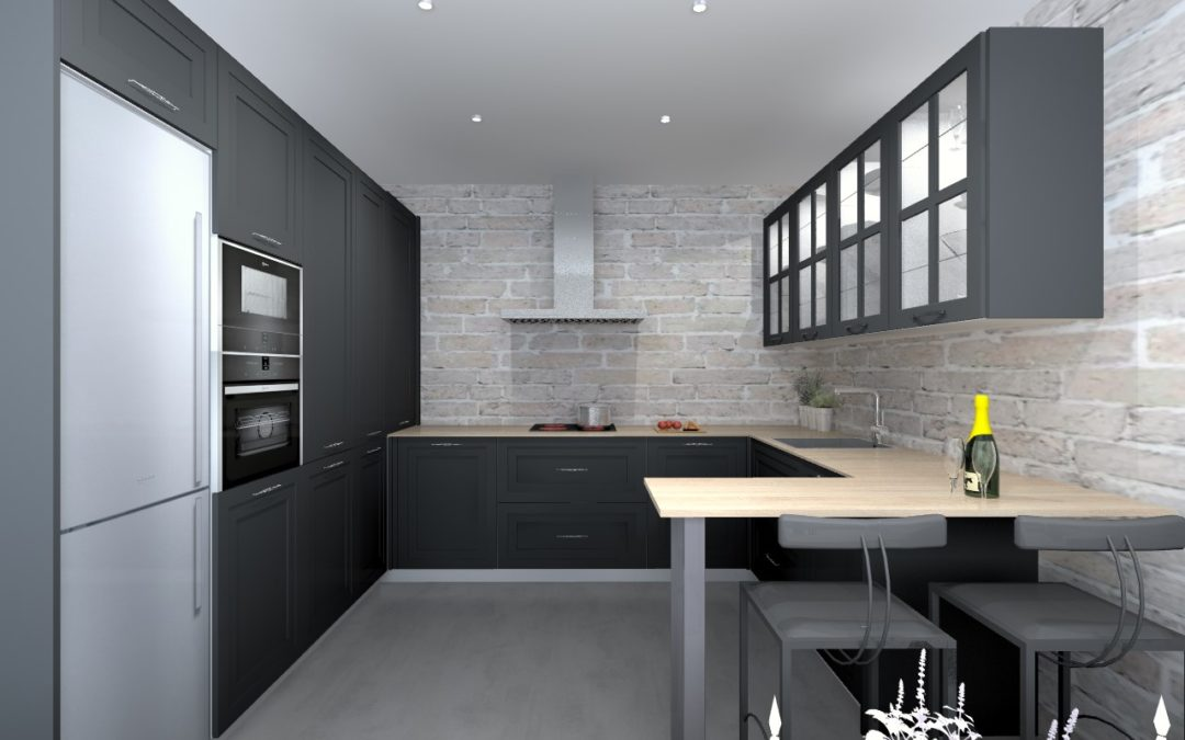 ¿Se puede mover una cocina de lugar?