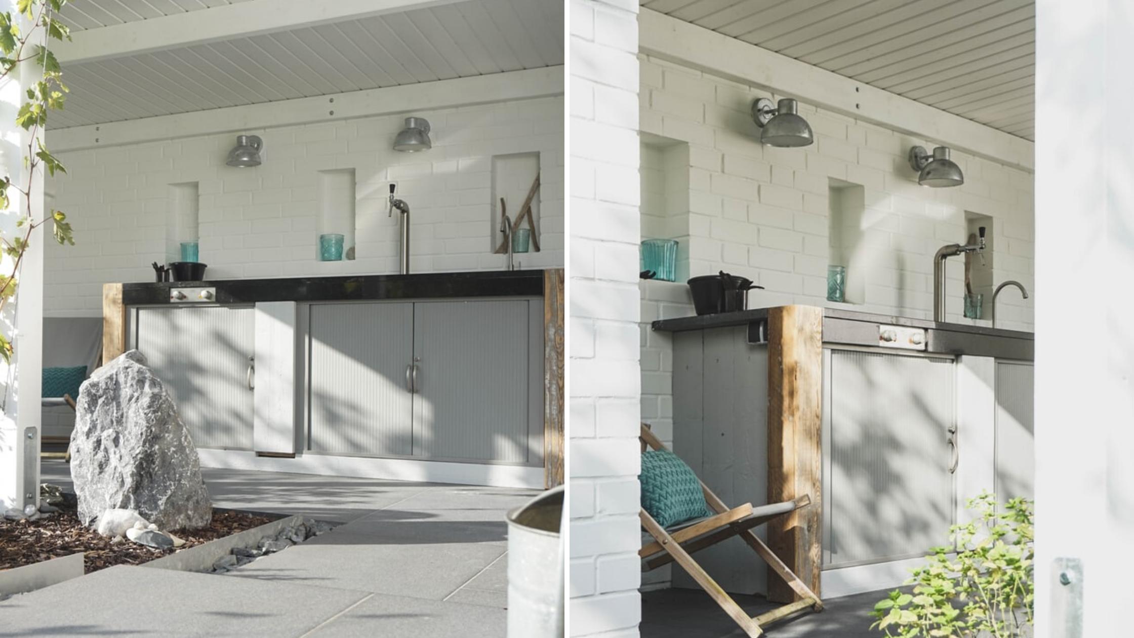 Cocinas de exterior para el jardín o la terraza