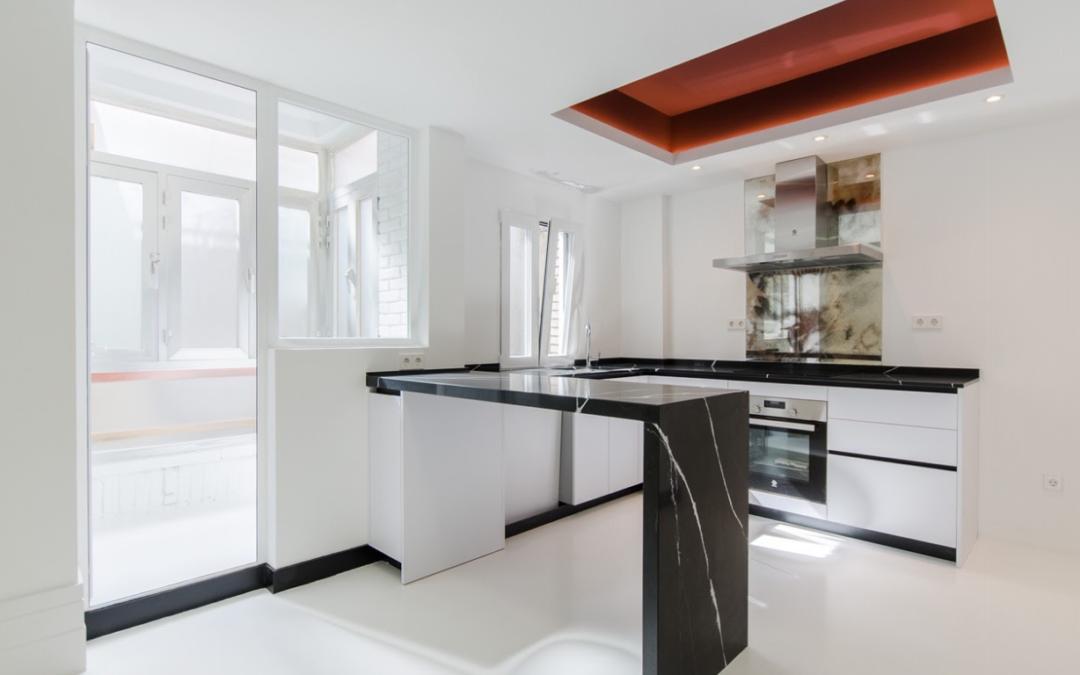 Cómo diferenciar una cocina de lujo