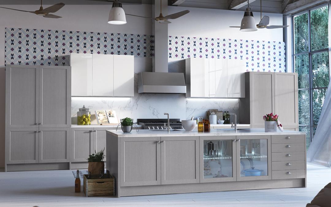 Cocinas en color gris
