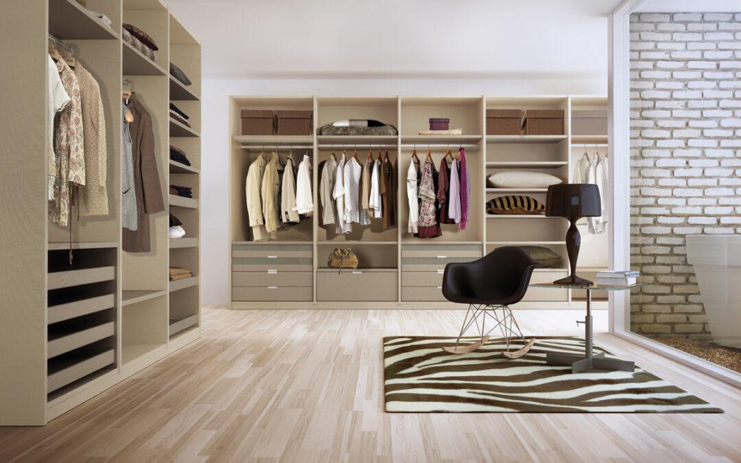Cómo organizar un vestidor