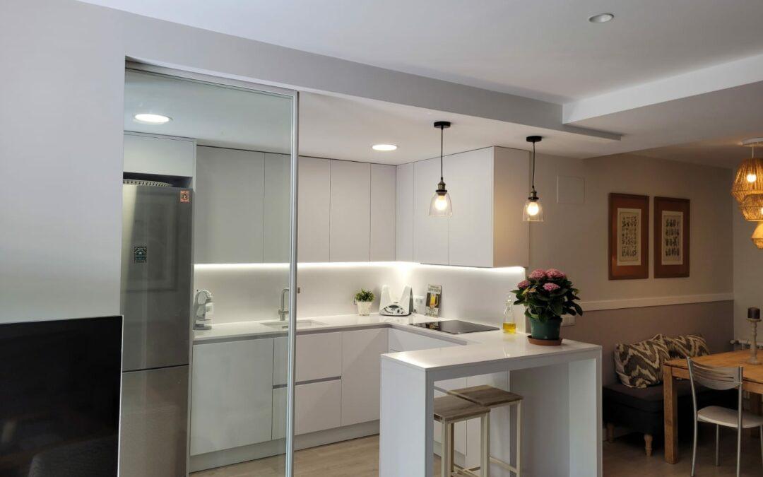 Claves para diseñar una cocina abierta a medida