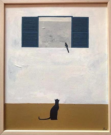 'No es del todo así', la primera exposición de Juan Feo