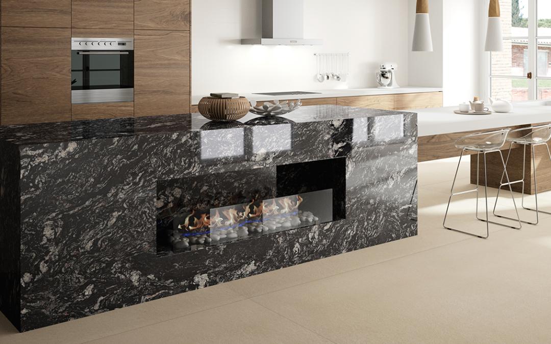 Encimeras de granito natural en la cocina