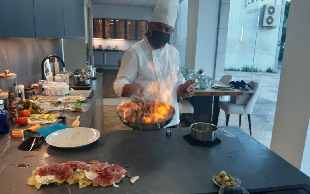 Celebramos el evento 'Cocinar directamente en la encimera'